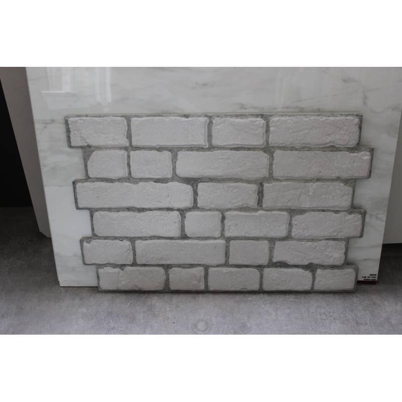 carrelage aspect brique 33x47cm brick branco. Black Bedroom Furniture Sets. Home Design Ideas
