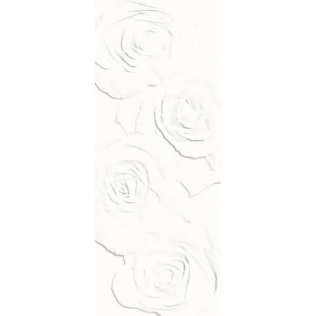 Playtile Branco Flora 20x50