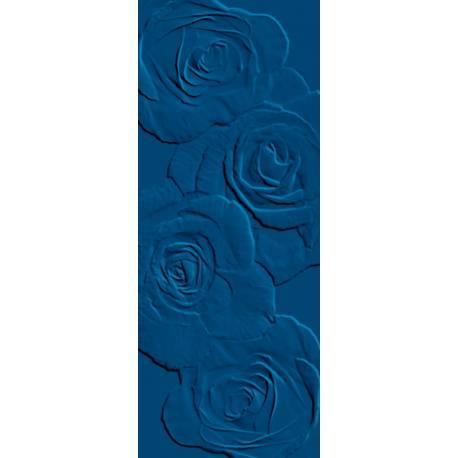 Playtile Azul Escuro Brilho Flora 20x50