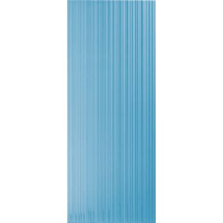 Playtile Azul Claro Brilho Stri 20x50