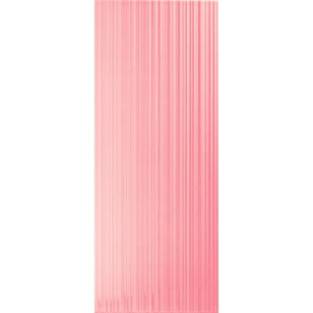 Playtile Rosa Brilho Stri 20x50