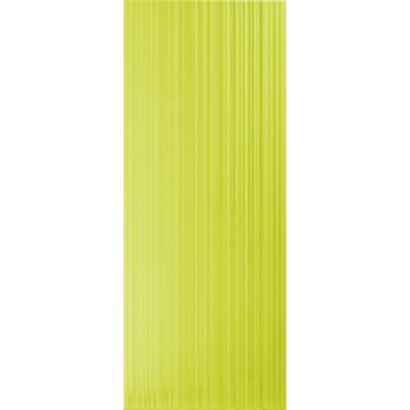 Playtile Verde Brilho Stri 20x50