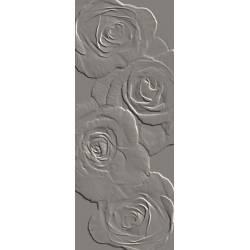 Playtile Cinza Brilho Flora 20x50