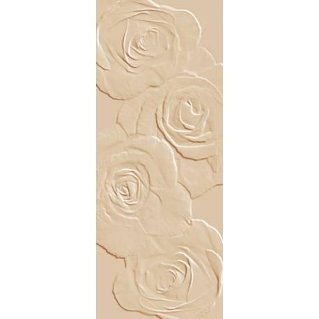 Playtile Creme Mate Flora 20x50