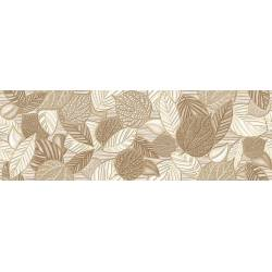Botanic Salvia Beige 20x60 motif feuilles