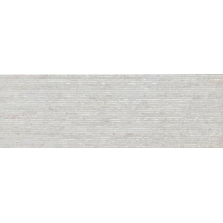 Faïence strié gris nimes 20x60cm