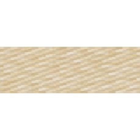 Faïence tressé beige ondas 20x60cm