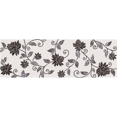 Faïence noir et blanc sevilla 20x60cm