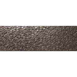 Faïence texturé noir turia 20x60cm