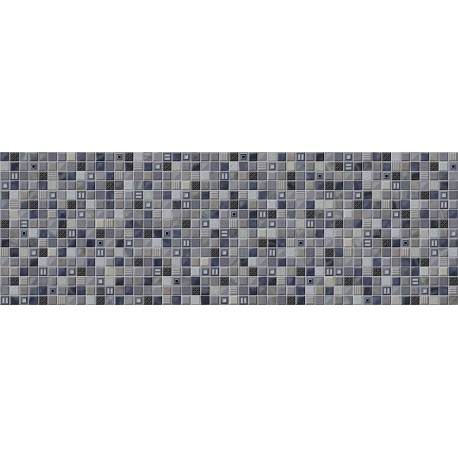 Faïence mosaïque bleue glass 25x75cm