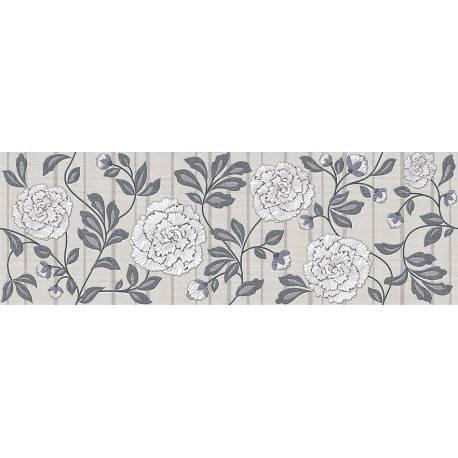 Faïence motifs floraux aranda 30x90cm
