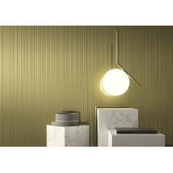 2Lines metal gold lap 45x90 brillant