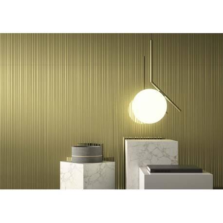 2Lines metal gold lap 45x90 brillant