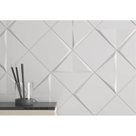 Aleatory colours white 2 15x15 mat