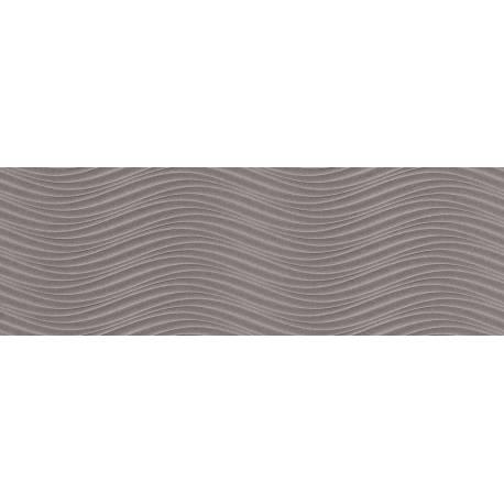 Faïence vagues grises cuarzo 30x90cm
