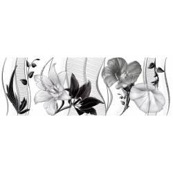 Faïence imprimés floraux cuarzo 30x90cm