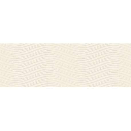Faïence vagues beiges cuarzo 30x90cm