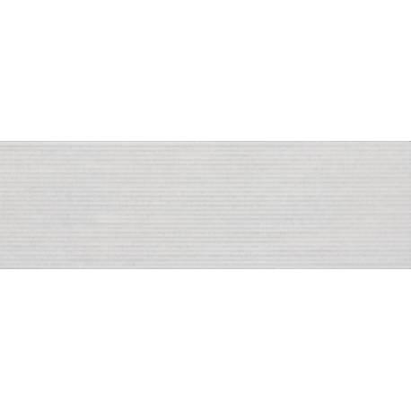 Ceramic Tiles alpes strip blanco 25x80 rectifié brillant