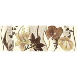 Faïence imprimés fleurs cuarzo 30x90cm