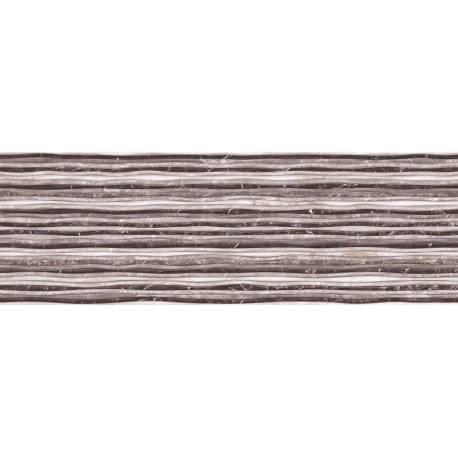 Faïence graphique gris iris 30x90cm