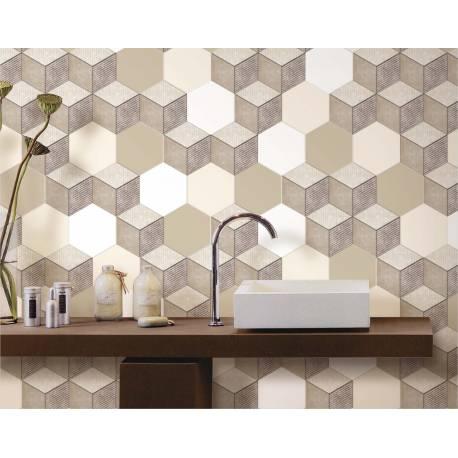 Colours Textures hexagon texture 1 15x17,3