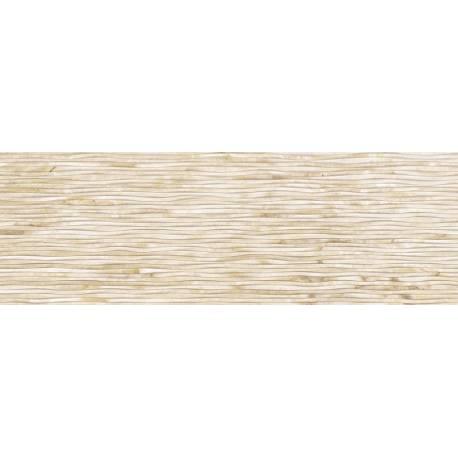 Faïence graphique beige iris 30x90cm