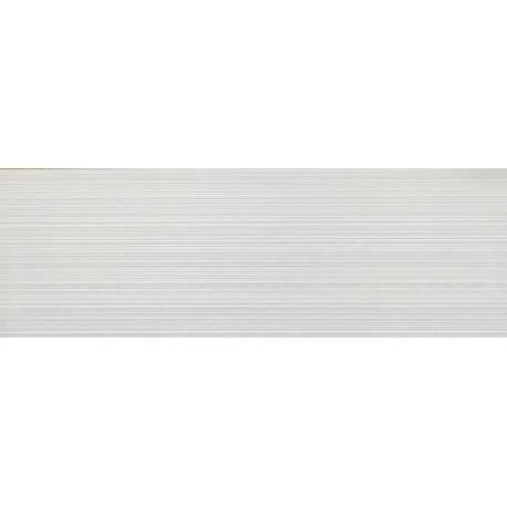 Faïence stris élégants blancs londres 30x90cm
