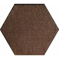 Geom metal random copper text 18x20 mat