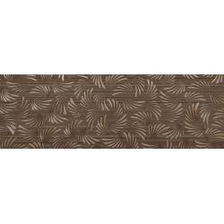Faïence motifs marron londres 30x90cm