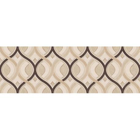Faïence motifs orientaux beige marron milan 30x90cm