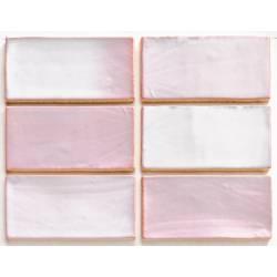 Handmade vintage pink 7,5x15 brillant