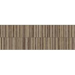 Faïence bandes marrons tokio 30x90cm
