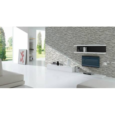 Carrelage briquettes blanches mérida 15x50cm