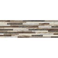 Carrelage briquettes multicolor mérida 15x50cm