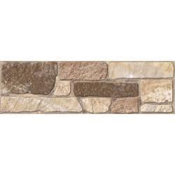 Carrelage pierres utiel 15x50cm