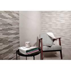 Kirova decor gris 30x60 rectifié mat