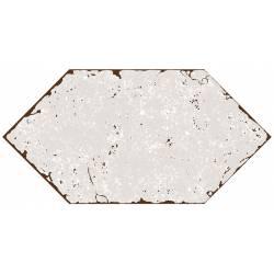 Losanga lisa blanca 15,7x31,6