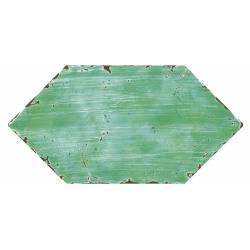 Losanga lisa verde 15,7x31,6