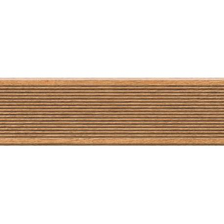 Carrelage deck marron canada 15x49cm