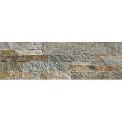 Carrelage mur de pierres grises avila 15x49cm