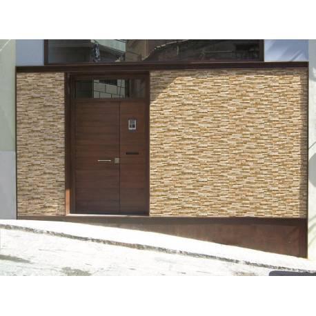 Carrelage malta pierres marrons malta 15x49cm