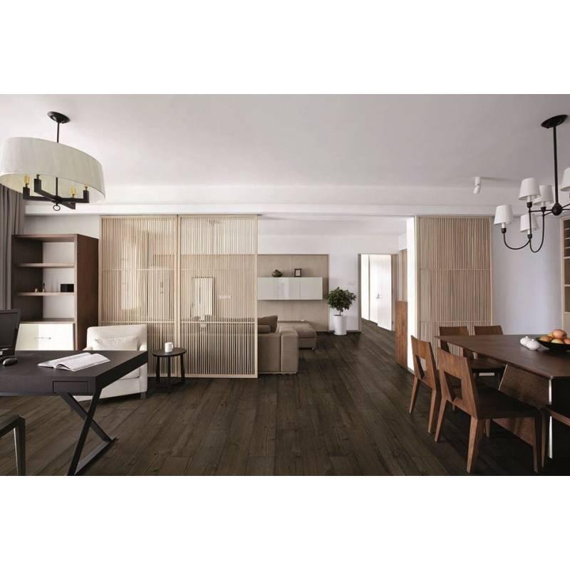 carrelage aspect parquet marron pino 20x121cm. Black Bedroom Furniture Sets. Home Design Ideas