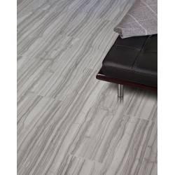 Carrelage lame de marbre gris striatto 20x120cm semi-poli