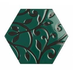 Toscana grabados verde 25,8x29 brillant
