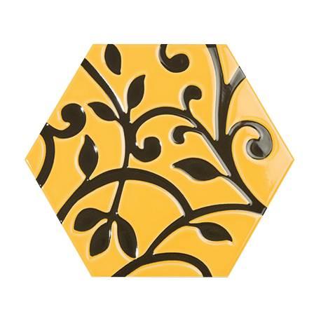 Toscana grabados amarillo 25,8x29 brillant