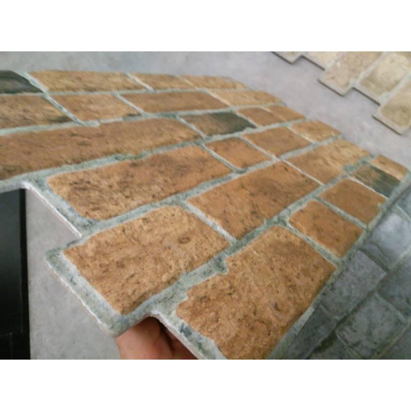 Carrelage aspect brique 33x47cm Brick Pardo