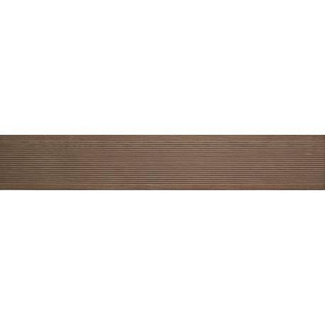 Carrelage deck marron clair long ext 20x120cm
