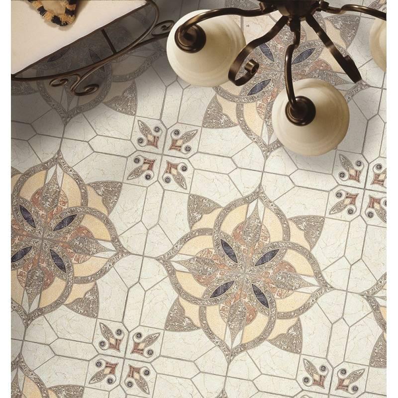 Carrelage puzzle d coup motif puzzlemi 41x41cm for Decoupe plinthe carrelage