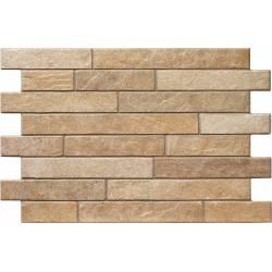 Carrelage parement brique classique bigstone 40x57cm