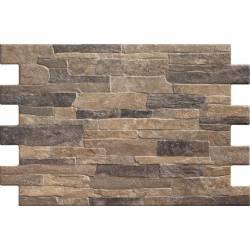 Carrelage parement brique irrégulier bigstone 40x57cm
